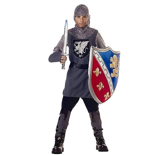 Halloween Boys' Valiant Knight Costume - Large (10-12), Boy's