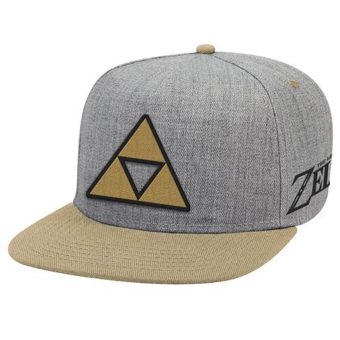e5cec2f859a0f The Legend Of Zelda Brimmed Hat - Triforce Patch   Target