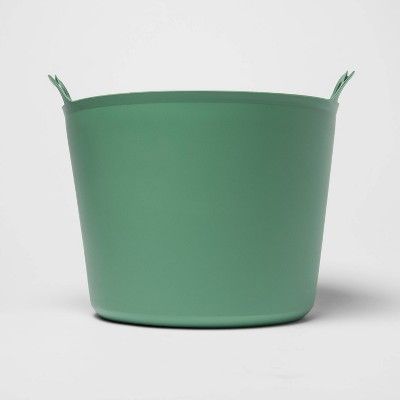 7gal Flexible Toy Storage Tub Green - Room Essentials™