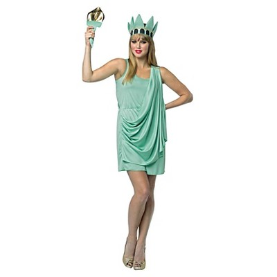 costume adult of Statue liberty