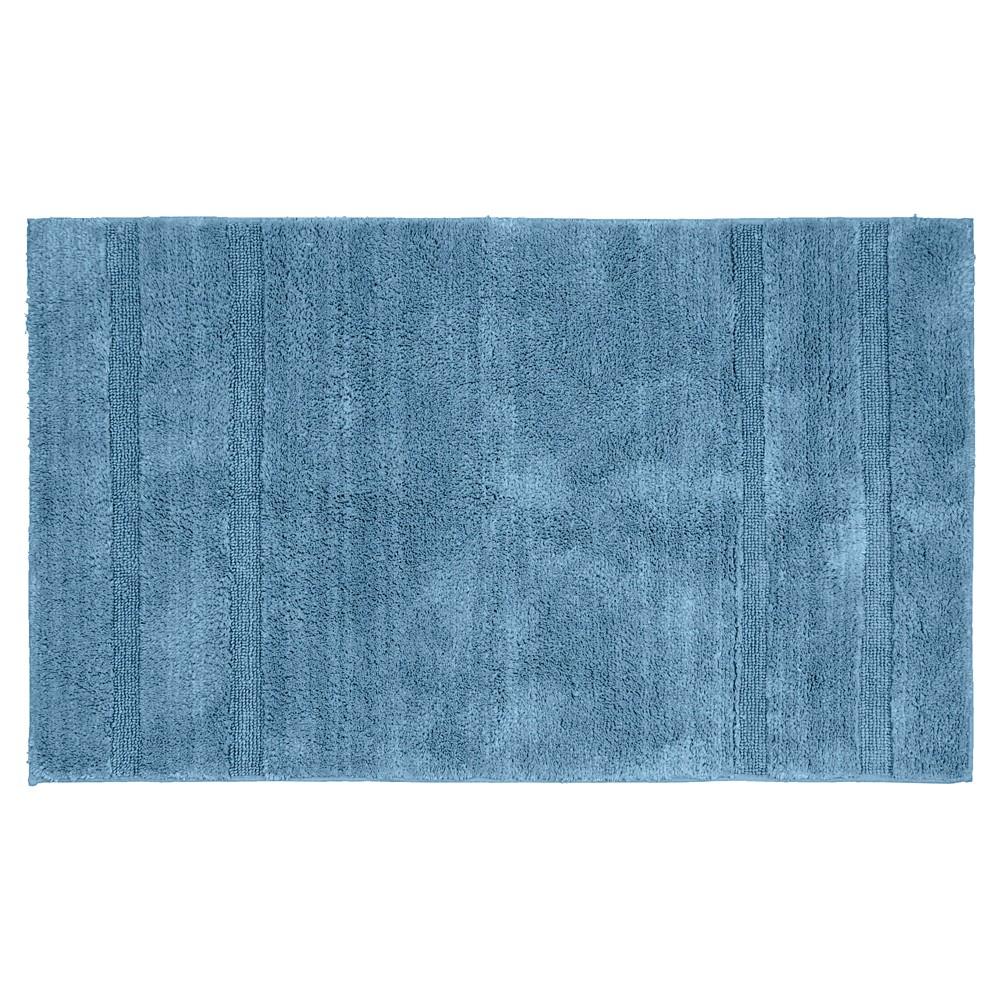 Garland Majesty Cotton Washable Bath Rug - Sky Blue (30