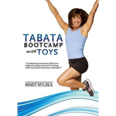 Mindy Mylrea: Tabata Bootcamp With Toys 4 Minute Hit Workouts (DVD) - image 1 of 1