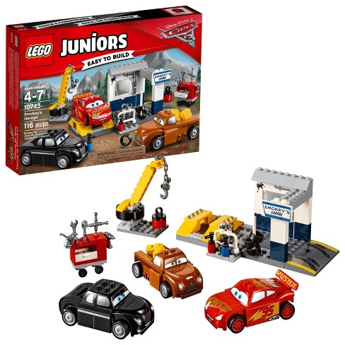 Lego Juniors Disneypixar Cars 3 Smokeys Garage 10743 Target