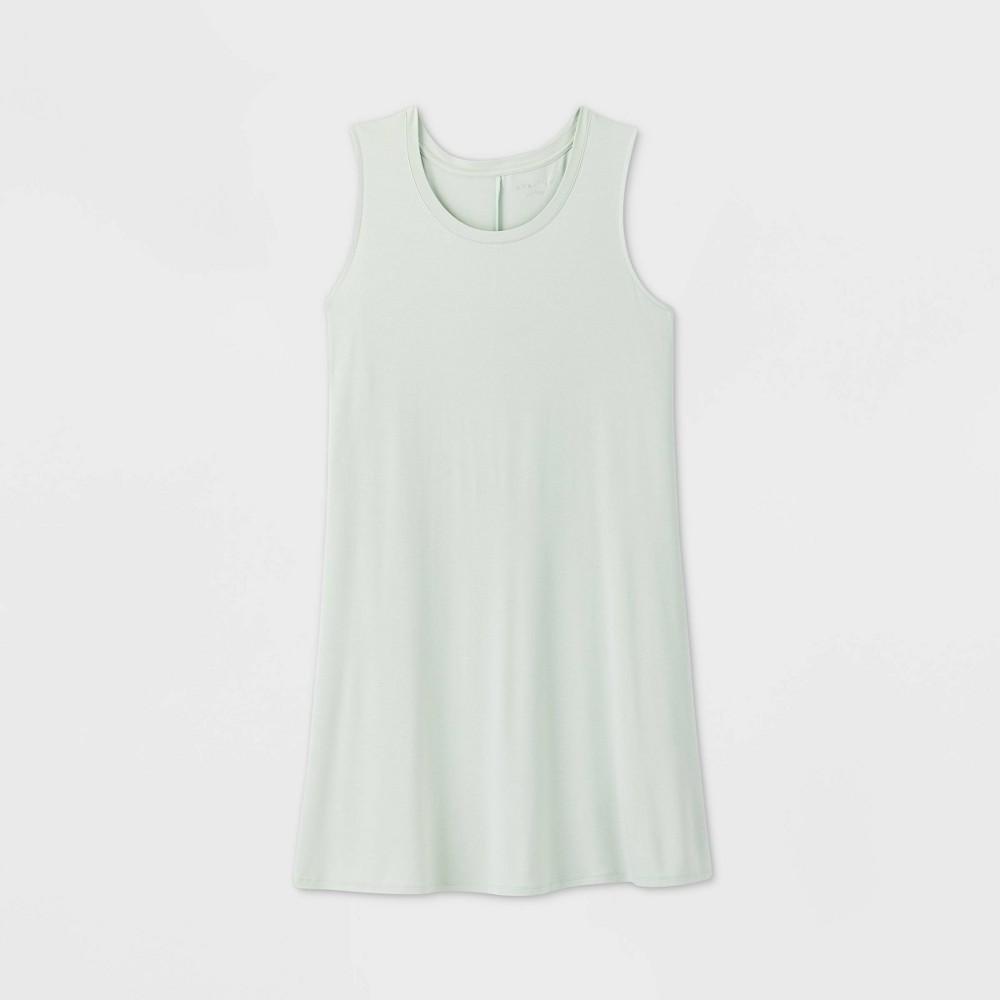 Women's Plus Size Sleeveless Swing Dress - Ava & Viv Green 2X was $15.0 now $10.0 (33.0% off)