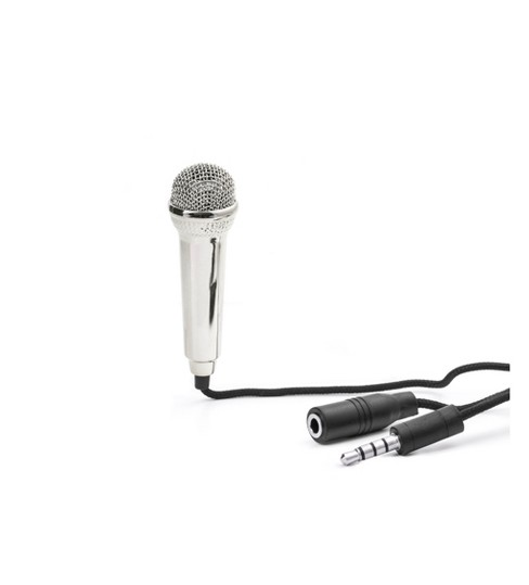 Black Mini Karaoke Microphone - Kikkerland - image 1 of 3