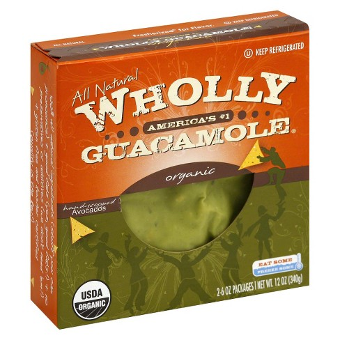 Wholly Guacamole All Natural Organic Hand-Scooped Avocados - 12oz - image 1 of 1
