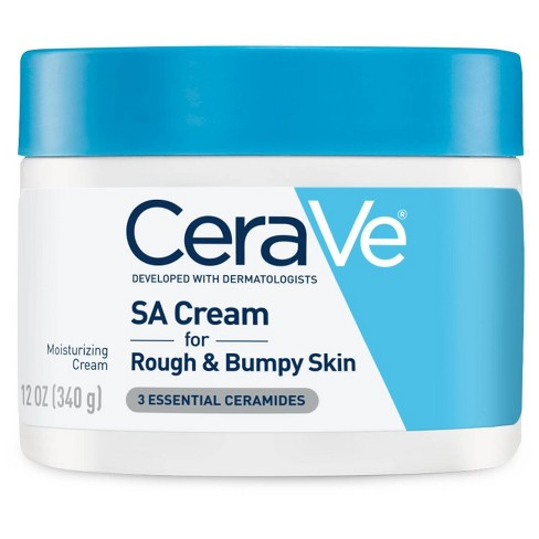 CeraVe SA Cream for Rough and Bumpy Skin, Moisturizer with Salicylic Acid - 12oz - image 1 of 3