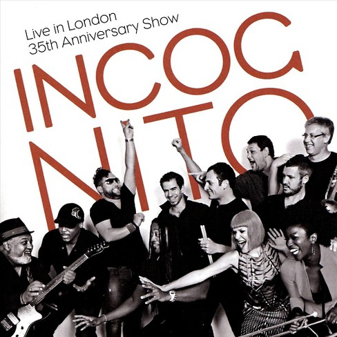 Incognito - Live in london:35th anniversary show (CD) - image 1 of 1