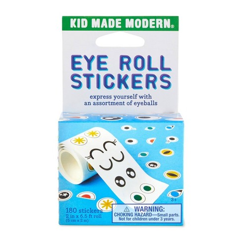 Kid Made Modern 180ct Eyes Sticker Roll - image 1 of 4