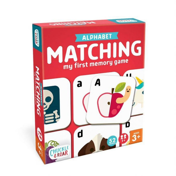 Chuckle & Roar Matching Game Alphabet : Target