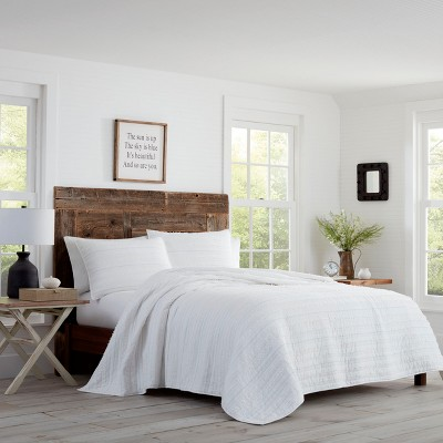 King Foster Quilt Set White - Stone Cottage