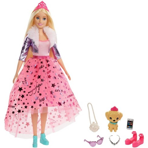 Barbie Princess Adventure Deluxe Princess Barbie Doll - image 1 of 4