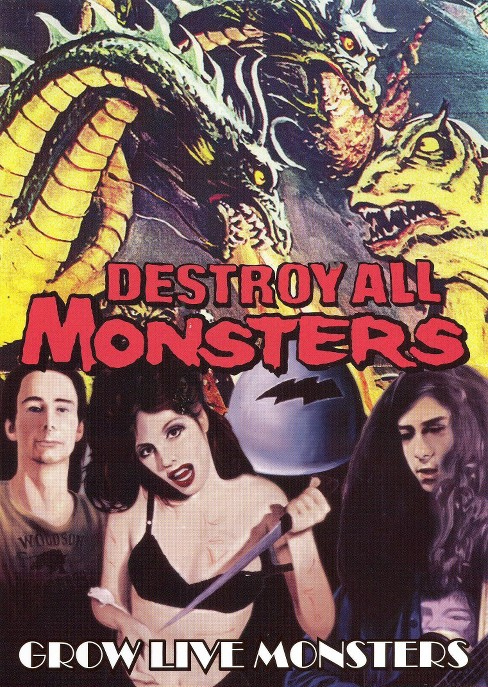 Destroy all monsters:Grow live monste (DVD) - image 1 of 1