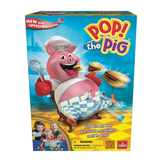 Goliath Pop the Pig Game, Kids Unisex image number null