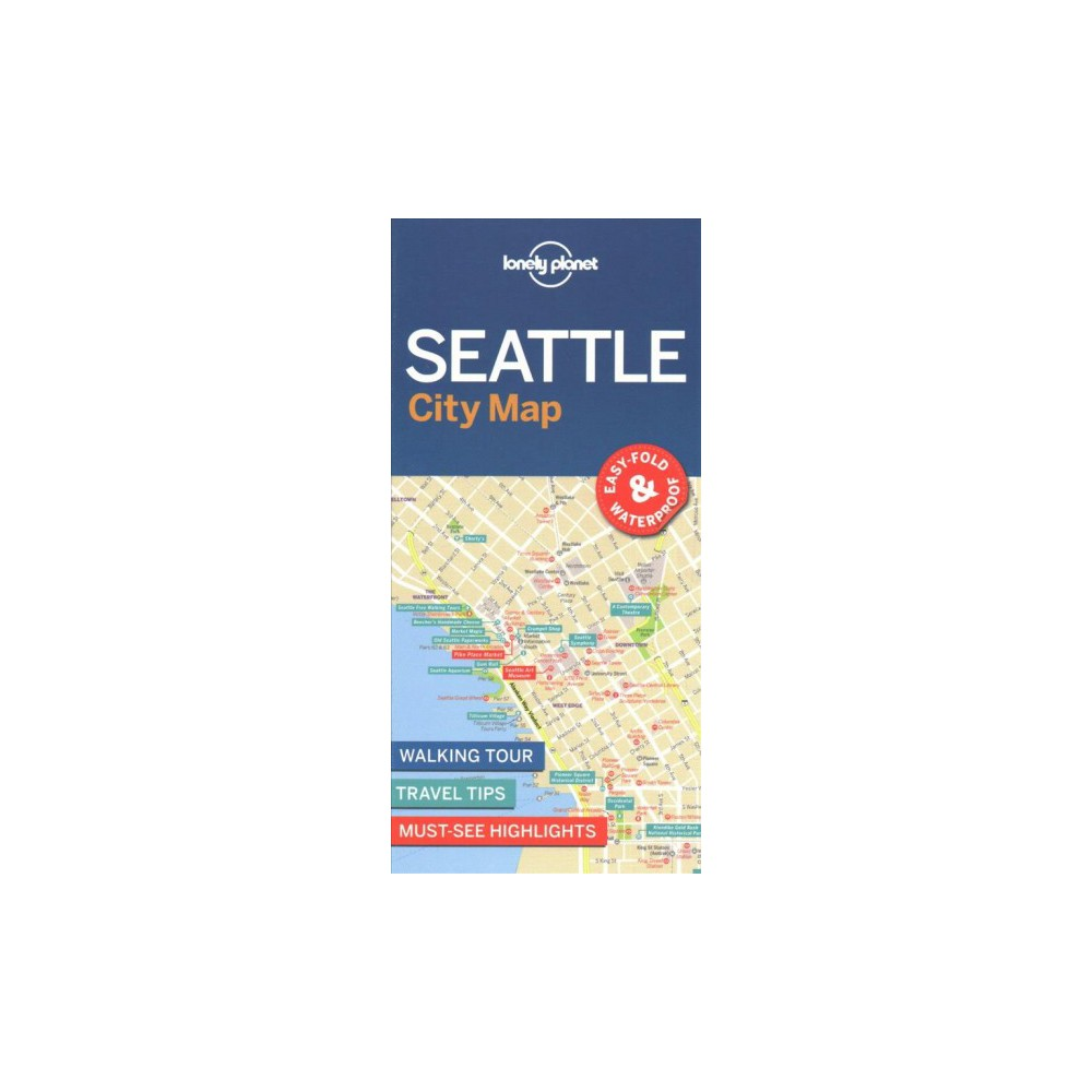 Lonely Planet Seattle City Map (Paperback)
