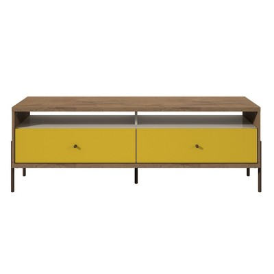 """Joy 59"""" TV Stand with 2 Full Extension Drawers - Manhattan Comfort"""