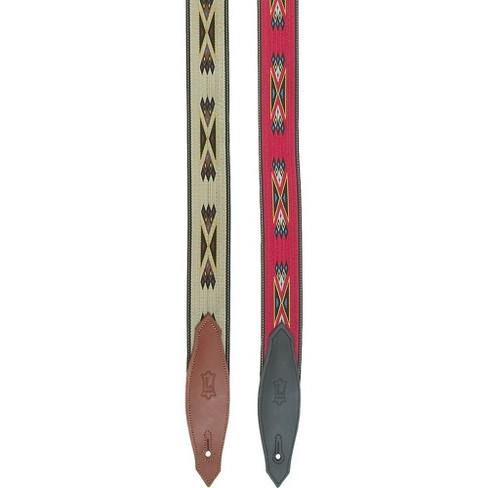 "Levy's 2"" Southwest Navajo Print Nylon Guitar Strap - image 1 of 2"