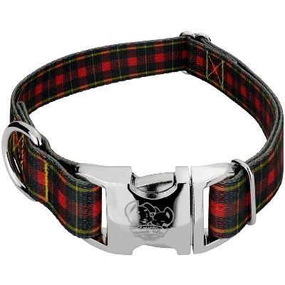 Country Brook Design® Premium Buffalo Plaid Dog Collar