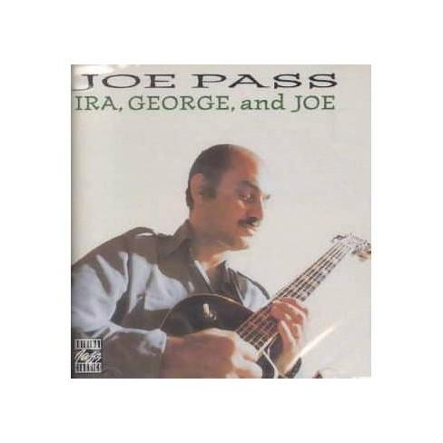 Joe Pass - George Ira & Joe (CD) - image 1 of 1