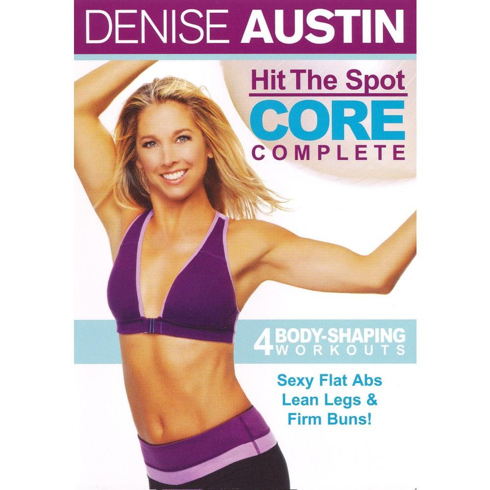 Denise Austin: Hit the Spot - Core Complete (dvd_video)