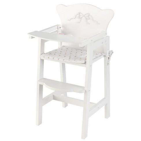 KidKraft Tiffany Bow Lil' Doll High Chair - image 1 of 1