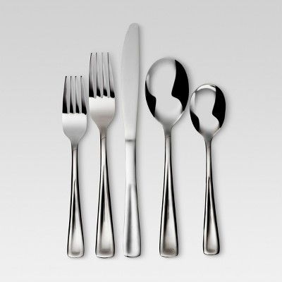 20pc Stainless Steel Jovita Flatware Set - Threshold™