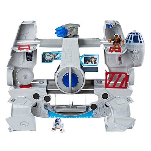 Star Wars Galactic Heroes 2-in-1 Millennium Falcon - image 1 of 7