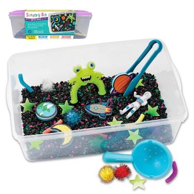 Outer Space Sensory Bin - Creativity for Kids