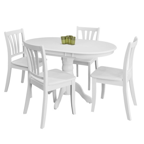 CorLiving Dining Table Set White - image 1 of 10