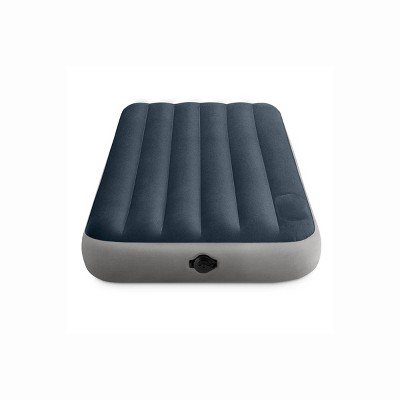 "Intex Premium Durabeam 10"" Twin Air Mattress with Internal (AA) Battery Pump"
