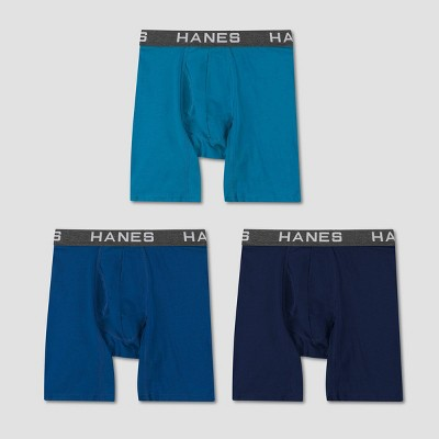 Hanes Men's Comfort Flex Fit Cotton Modal Boxer Briefs 3pk