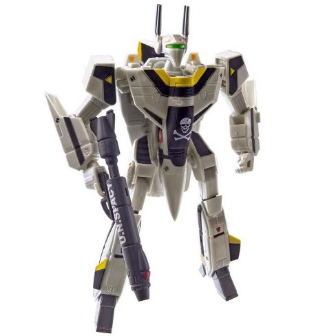 Macross Saga Retro Transformable Collection VF-1S Roy Focker Variable Fighter | 1:100 Scale Action figures - image 1 of 4