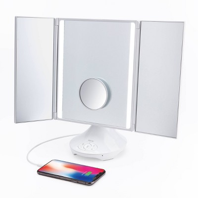 """iHome Reflect Trifold Mirror - 11.2"""""""