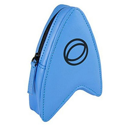 Crowded Coop, LLC Star Trek The Original Series Coin Pouch Blue Delta - image 1 of 1