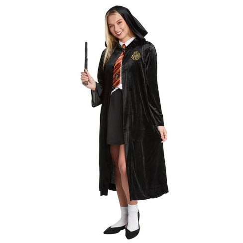 Adult Harry Potter Four House Logo Halloween Costume Robe - image 1 of 2