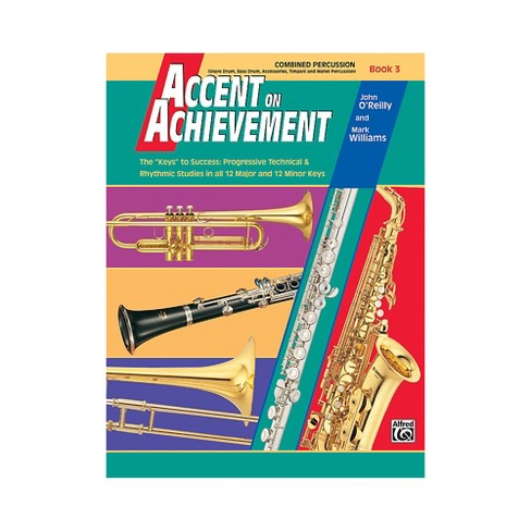 Alfred Accent on Achievement Book 3 Combined PercussionS.D. B.D. Access. Timp. & Mallet Percussion - image 1 of 1