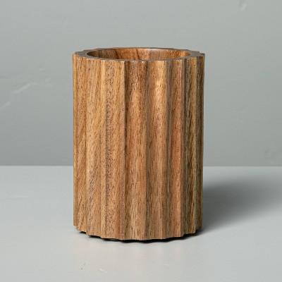 Acacia Wood Bath Tumbler - Hearth & Hand™ with Magnolia