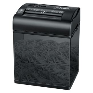 Fellowes Powershred ShredMate Cross-Cut Paper Shredder, 4 Sheets - Black