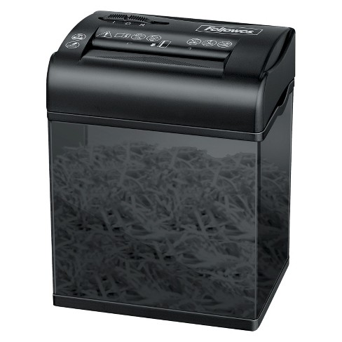 Fellowes Shred Shredmate Cross Cut Paper Shredder 4 Sheets Black