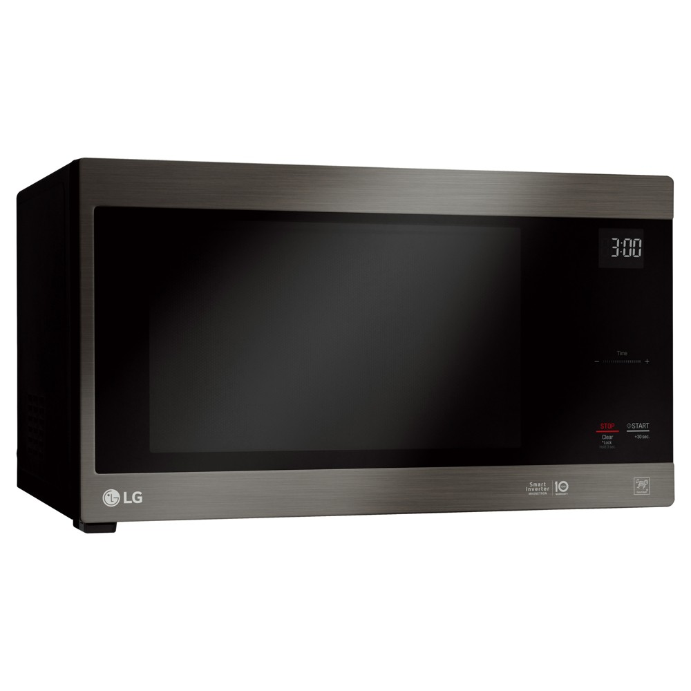 Image of LG 1.5 cu ft Countertop Microwave Smart Inverter Black Stainless Steel - LMC1575BD