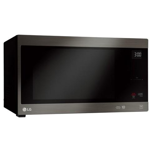 Lg 1 5 Cu Ft Countertop Microwave Smart Inverter Black Stainless Steel Lmc1575bd