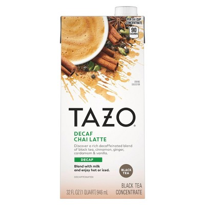 Tazo Chai Decaf Tea Latte - 32 fl oz