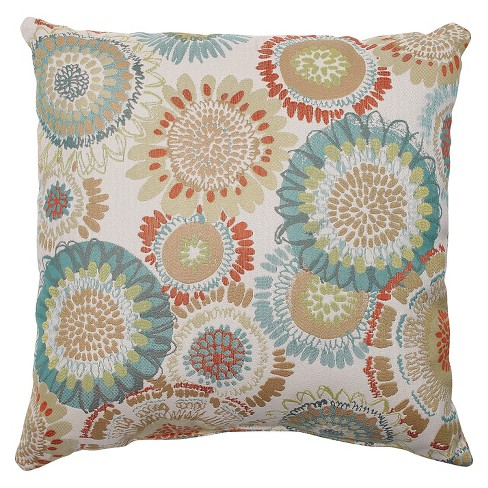 Maggie Mae Aqua Throw Pillow - Pillow Perfect® - image 1 of 1