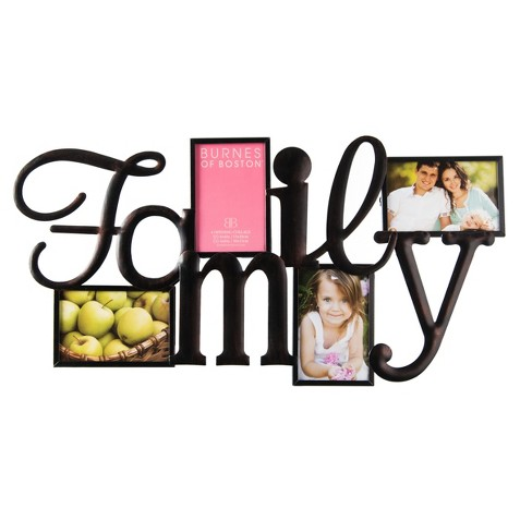 Burnes 4-Opening Collage Family Frame : Target