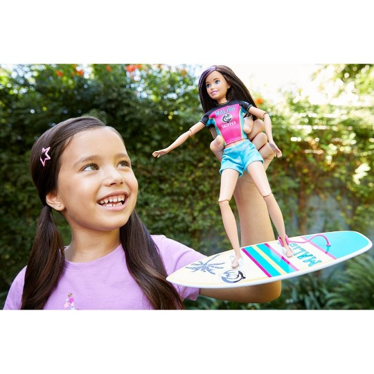 Barbie Sports Skipper Surfing Doll image number null