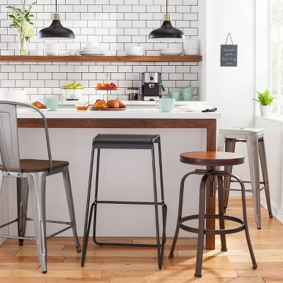Modern Industrial Kitchen Bar Stool Collection