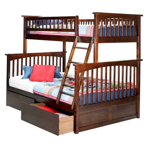 Columbia Twin Over Full Bunk Bed With Under Bed Target