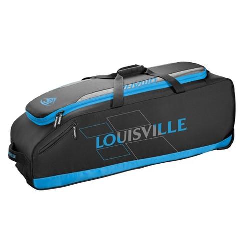Louisville Slugger Omaha Rig Baseball Softball Wheel Bag Victory Blue
