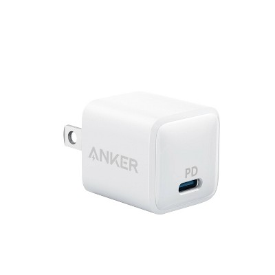 Anker Nano 20W 1-Port USB-C Wall Charger - White