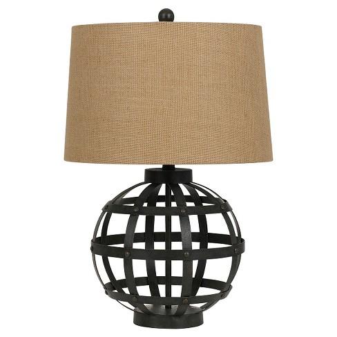 Cal Lighting 150w Bonham Metal Table Lamp Target